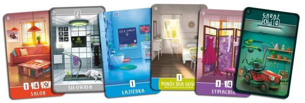 Rebel dodatek Domek: Słoneczna 156 - karty pomieszczeń i dodatków