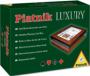 Karty 2 talie - Lux (drewniane pudełko z okienkiem)