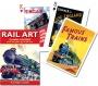 Talia tematyczna - Rail Art