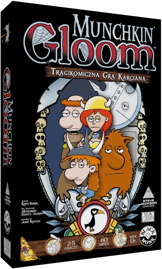 Munchkin Gloom (edycja polska)