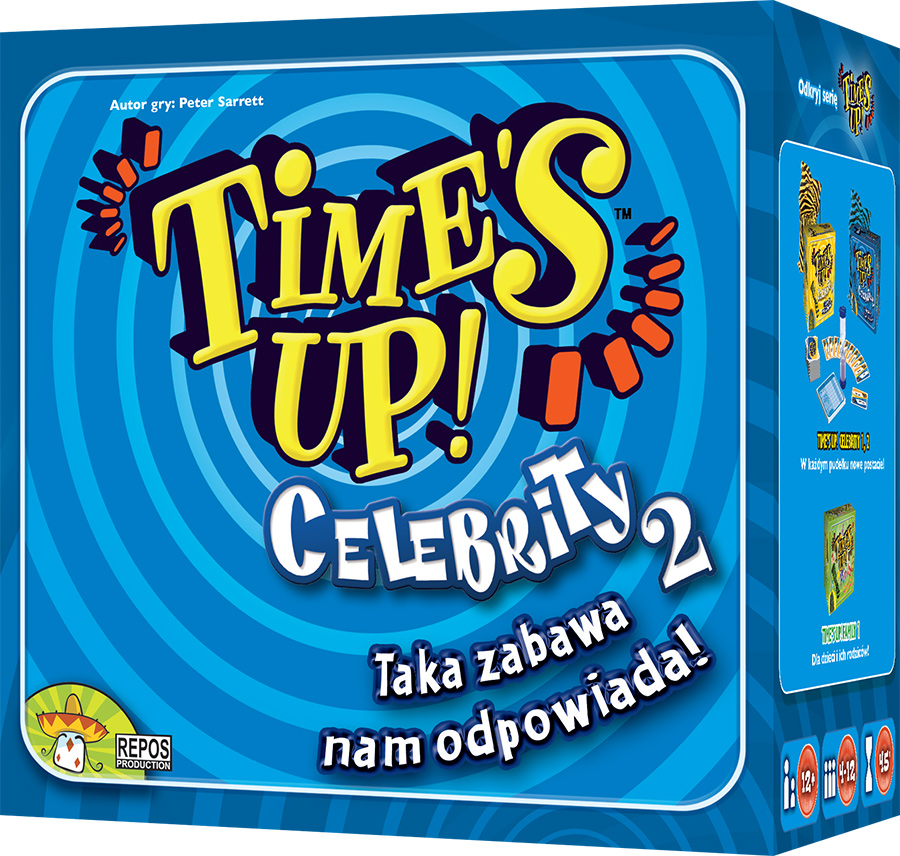 Time's up: Celebrity 2