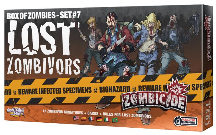 Zombicide: Lost Zombivors (edycja angielska)