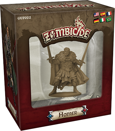 Zombicide: Black Plague - Homer