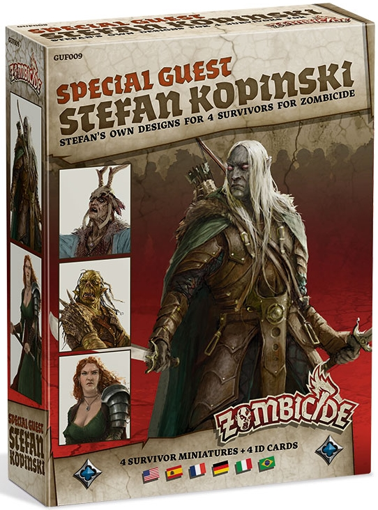 Zombicide: Black Plague - Special Guest Stefan Kopinski