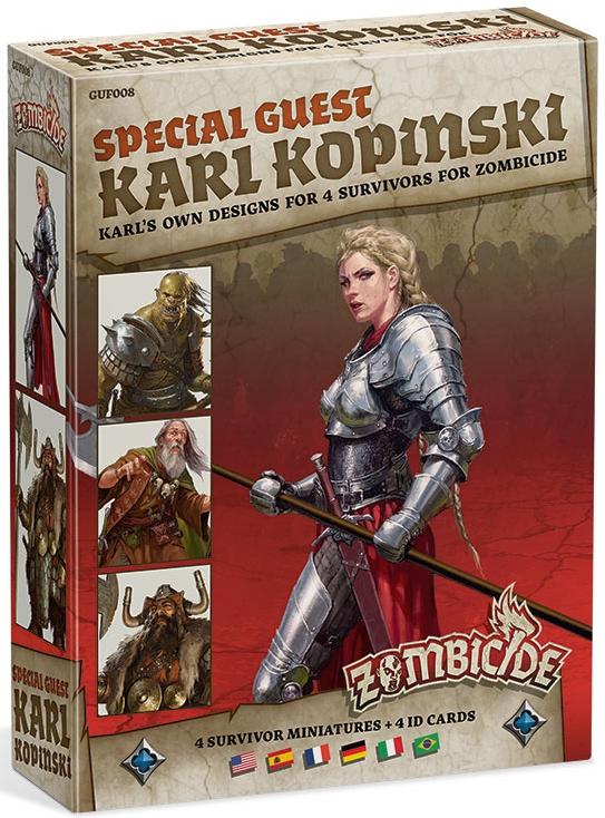 Zombicide: Black Plague - Special Guest Karl Kopinski