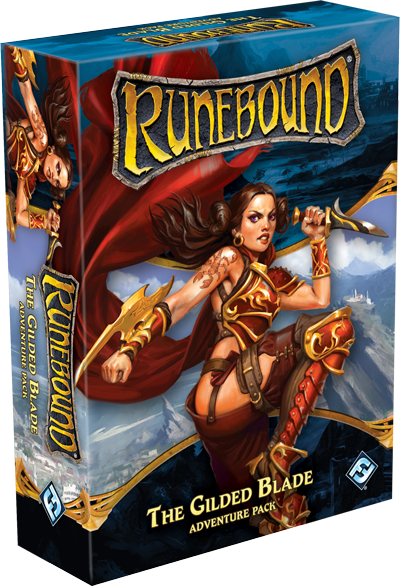 Runebound 3rd: Adventure Pack - The Gilded Blade