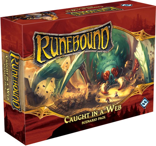 Runebound 3rd: Scenario Pack - Caught in a Web