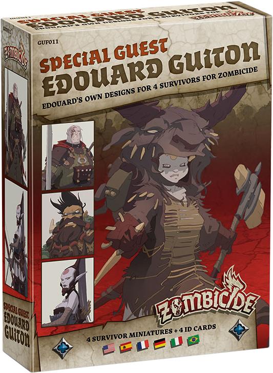 Zombicide: Black Plague - Special Guest Edouard Guiton