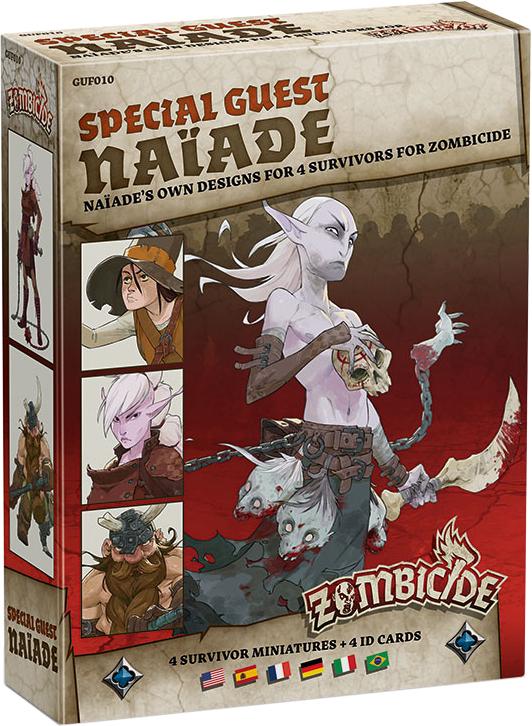 Zombicide: Black Plague - Special Guest Naiade