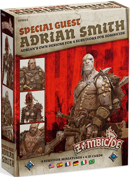 Zombicide: Black Plague - Special Guest Adrian Smith