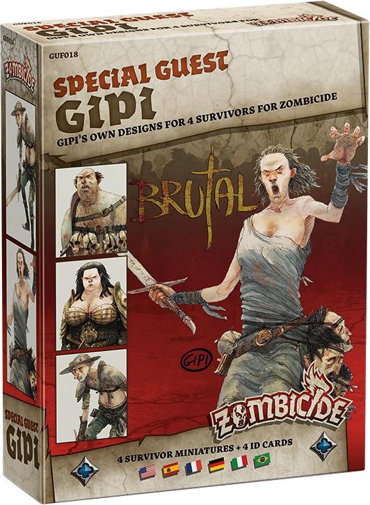 Zombicide: Black Plague - Special Guest GIPI