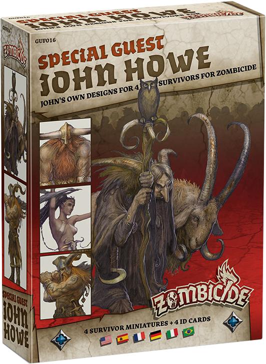 Zombicide: Black Plague - Special Guest John Howe