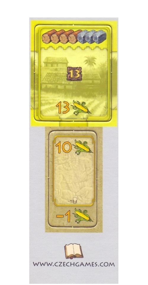 Tzolkin: Kalendarz Majów - Spichlerz i Cysterna (żółty monument)