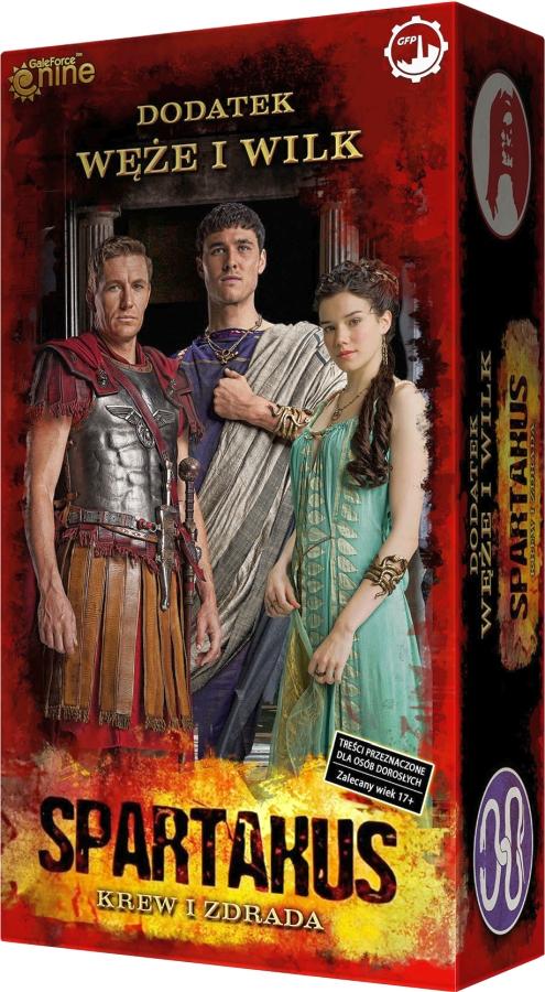 Spartakus: Krew i Zdrada - Węże i Wilk