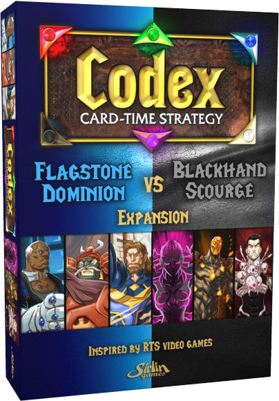 Codex: Flagstone Dominion VS Blackhand Scourge - Expansion