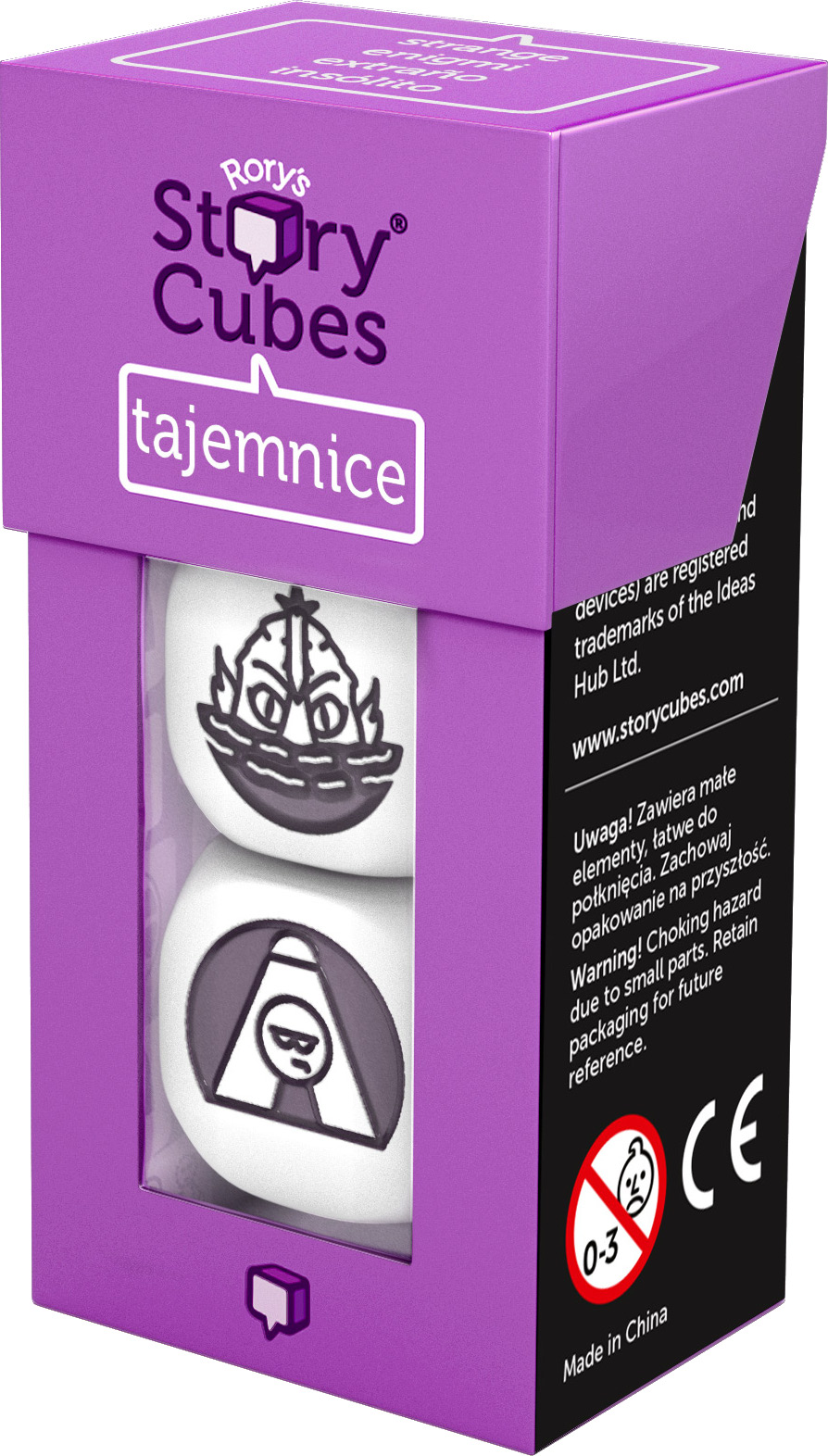 Story Cubes:Tajemnice