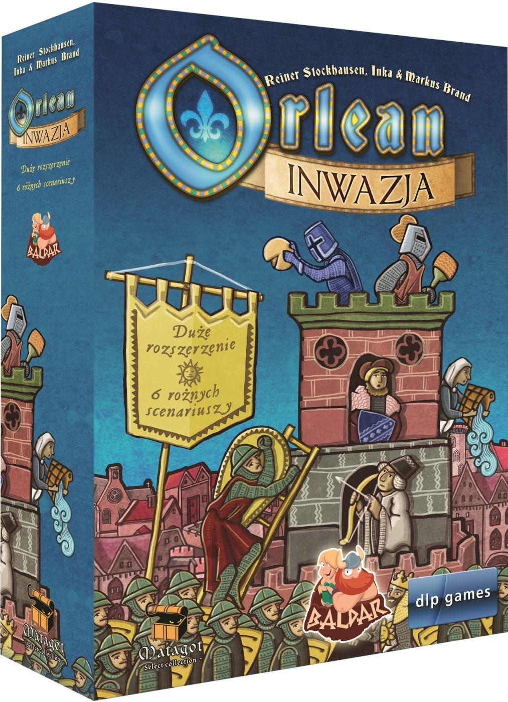 Orlean (edycja polska) - Inwazja