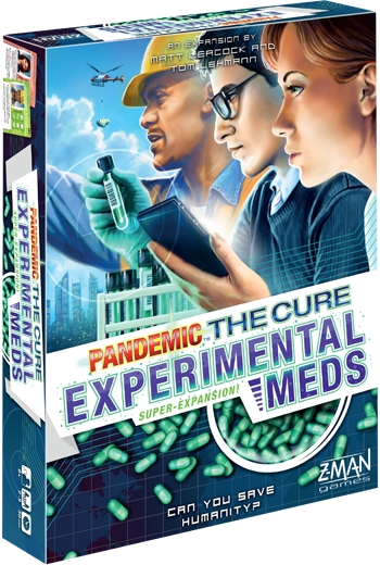 Pandemic: The Cure - Experimental Meds