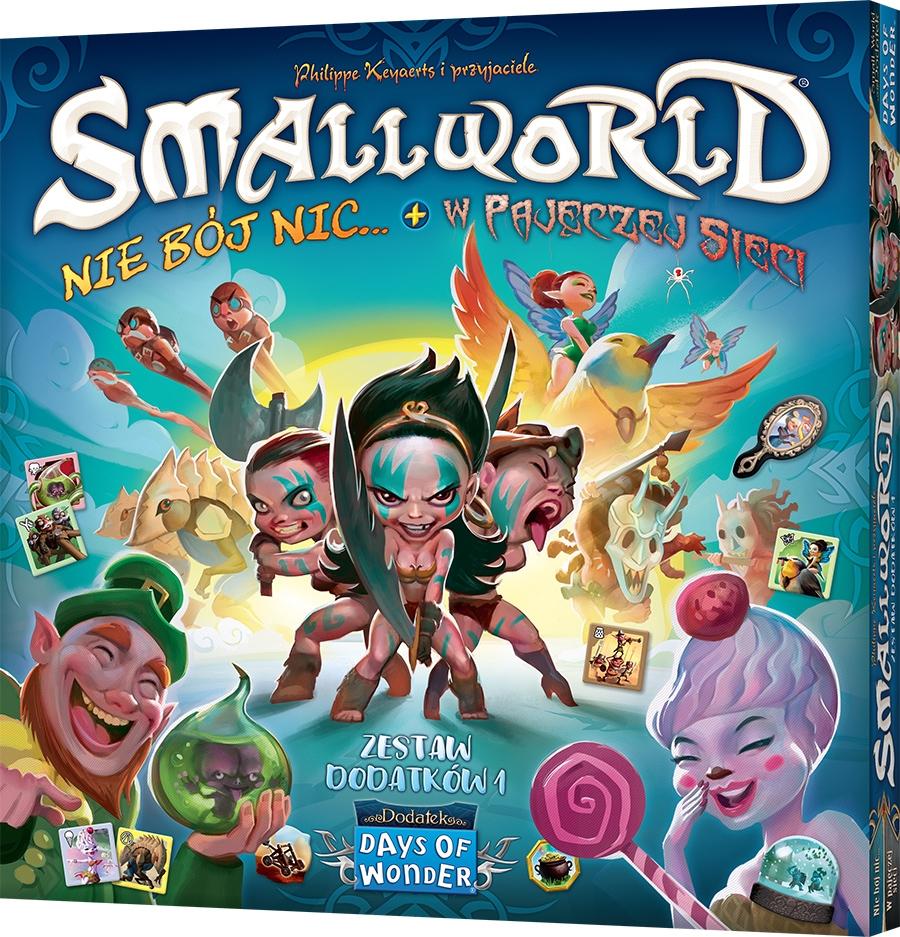 Small World (zestaw dodatków 1): Nie bój nic + W pajęczej sieci