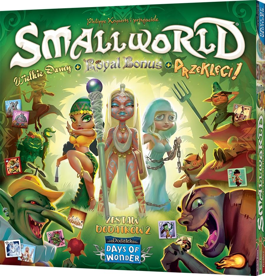 Small World (zestaw dodatków 2): Wielkie damy + Royal Bonus + Przeklęci!