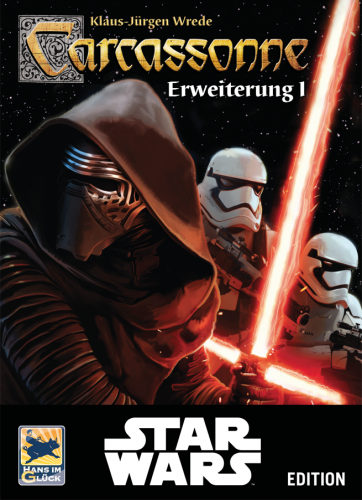 Carcassonne: Edycja Star Wars - Rozszerzenie 1