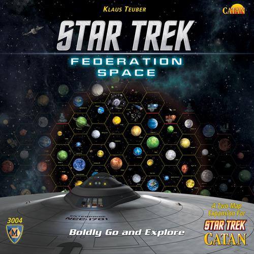 Star Trek Catan: Federation Space