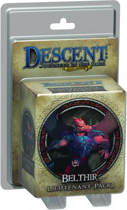 Descent: Journeys in the Dark - Belthir Lieutenant Pack