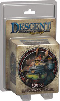 Descent: Journeys in the Dark - Splig Lieutenant Pack