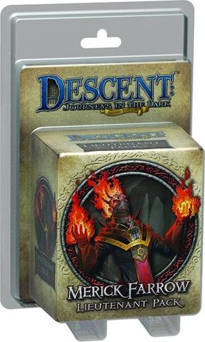Descent: Journeys in the Dark - Merick Farrow Lieutenant Pack