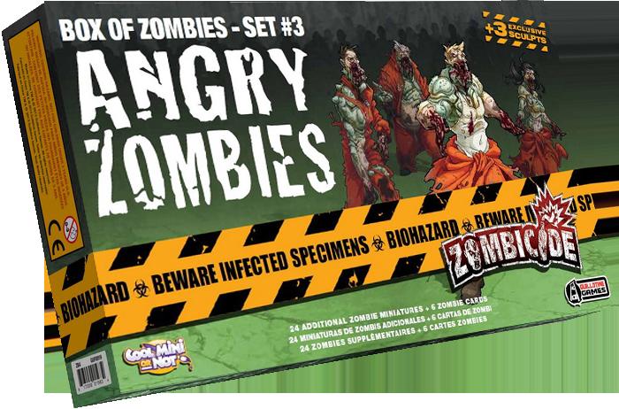Zombicide: Wściekłe Zombie (edycja polska)