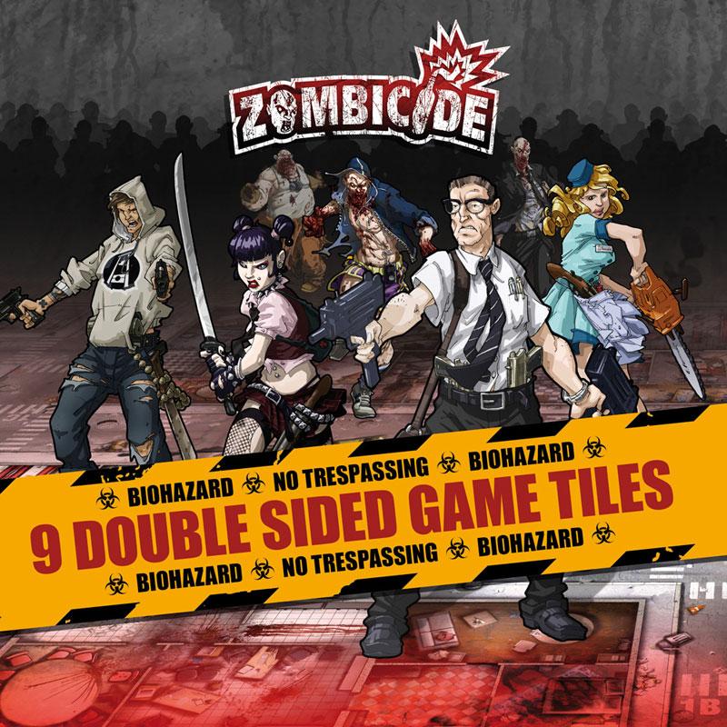 Zombicide: Dodatkowe Kafelki Planszy - sezon 1 (edycja polska)