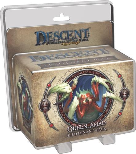 Descent: Journeys in the Dark - Queen Ariad Lieutenant Pack
