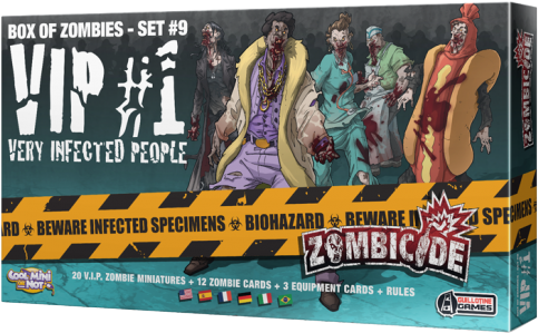 Zombicide: Box of Zombies Set #9 - VIP#1 Very Infected People
