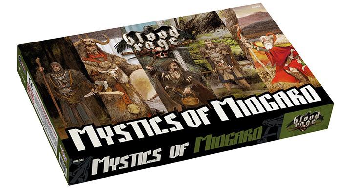 Blood Rage: Mistycy Midgardu (edycja międzynarodowa)