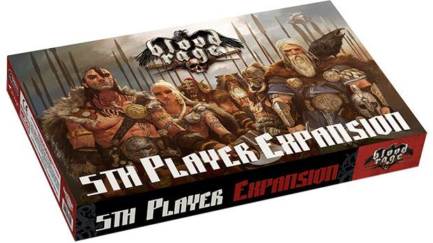 Blood Rage: Dodatek dla 5 gracza