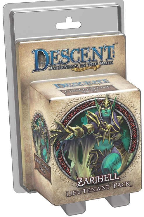 Descent: Journeys in the Dark - Zarihell Lieutenant Pack
