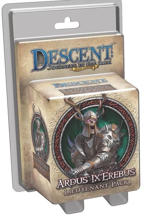 Descent: Journeys in the Dark - Ardus Ix'Erebus Lieutenant Pack
