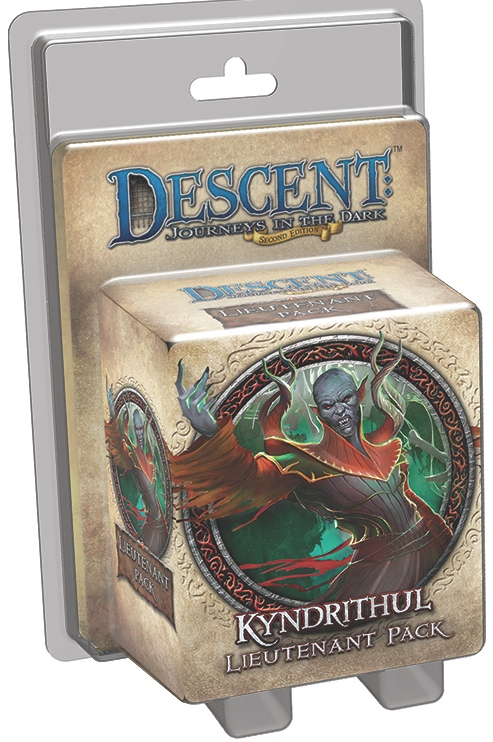 Descent: Journeys in the Dark - Kyndrithul Lieutenant Pack
