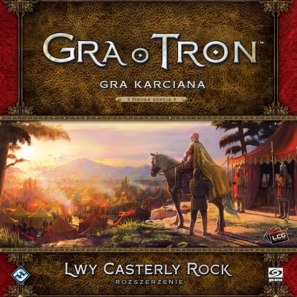 Gra o Tron: Gra karciana (2ed) - Lwy Casterly Rock