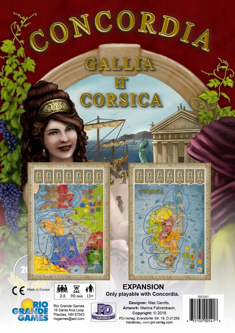 Concordia: Gallia i Corsica