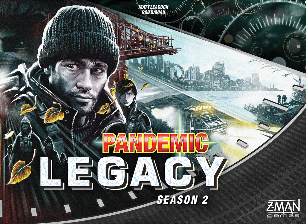 Pandemic Legacy: Season 2 - Black Edition