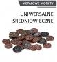 Metalowe monety - Uniwersalne - Średniowieczne (zestaw 30 monet)