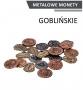 Metalowe monety - Goblińskie (zestaw 24 monet)