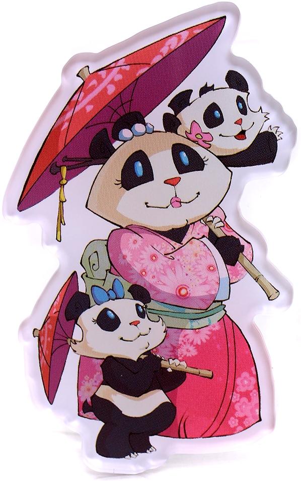 Magnes Takenoko: Rodzina pand