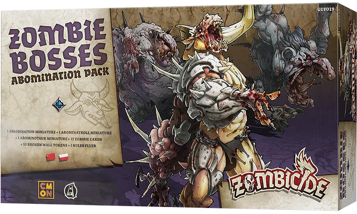 Zombicide: Czarna plaga - Zombie Bosses