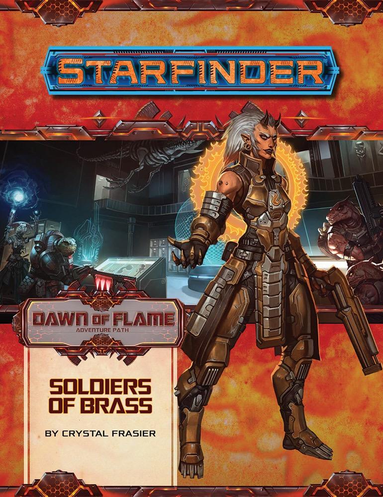 Starfinder RPG: Adventure Path #14 - Soldiers of Brass