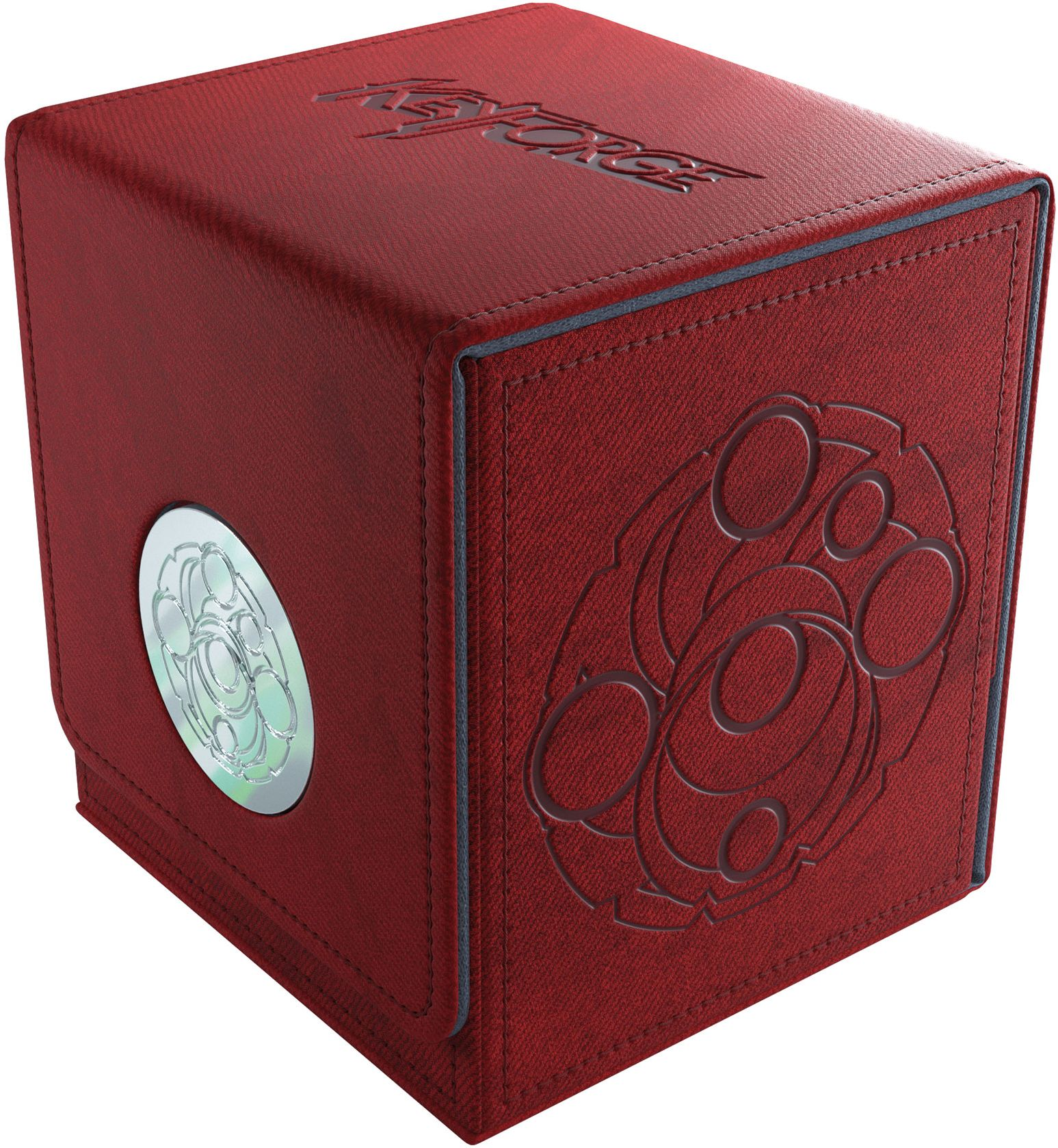 Gamegenic: KeyForge - Vault Red Premium Deck Box