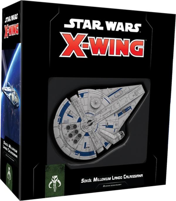 Star Wars: X-Wing - Sokół Millenium Lando Calrissiana (druga edycja)
