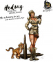 Hot & Dangerous: Hedwig from the Africa Corps (54 mm)