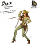 Hot & Dangerous: Dixie from the Confrederate Cavalry (28 mm)
